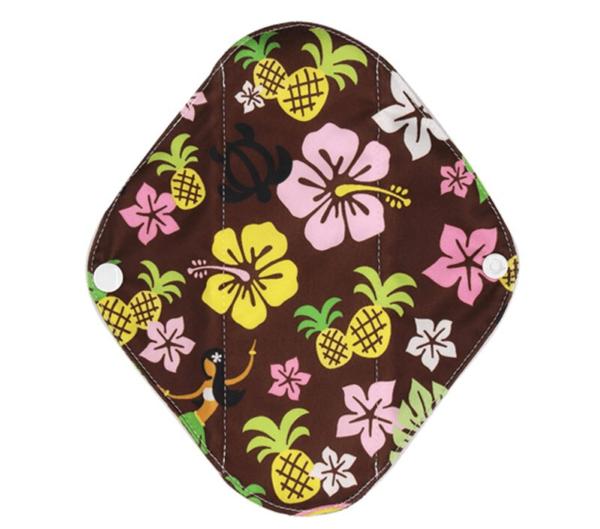 Látková intimní vložka s vzorem Tahiti Lecy