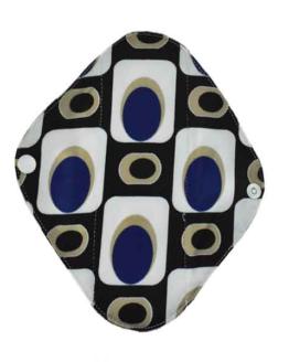 Látková intimní vložka s abstraktním vzorem Lecy