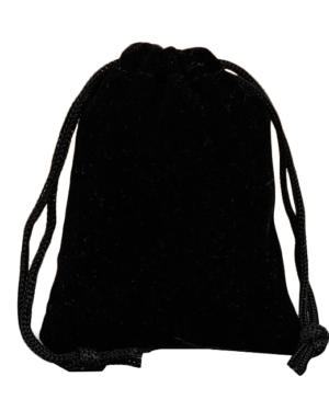 Sáček na menstruační kalíšek (černý)