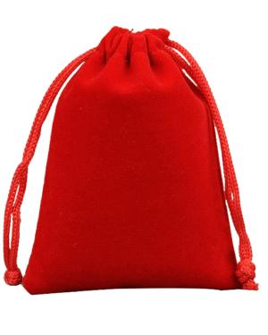 Sáček na menstruační kalíšek (červený)