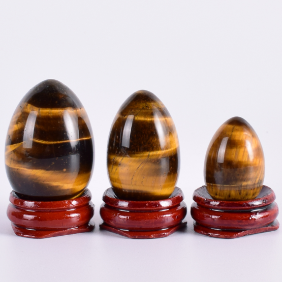 Kamenná vajíčka (černozlatá)