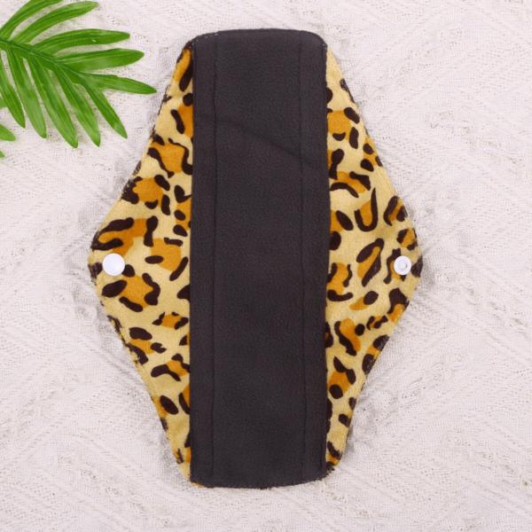 Látková intimní vložka s leopardím vzorem Lecy