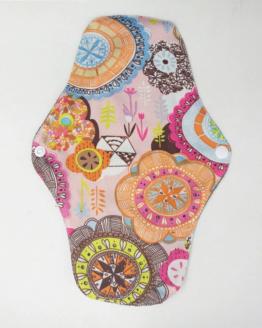 Látková intimní vložka s vzorem barevná mandala Lecy
