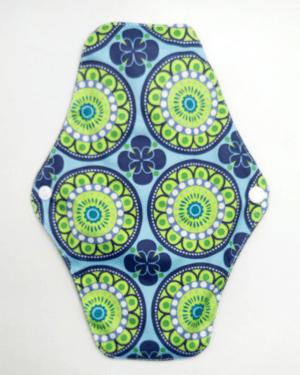 Látková intimní vložka s vzorem květinová mandala Lecy