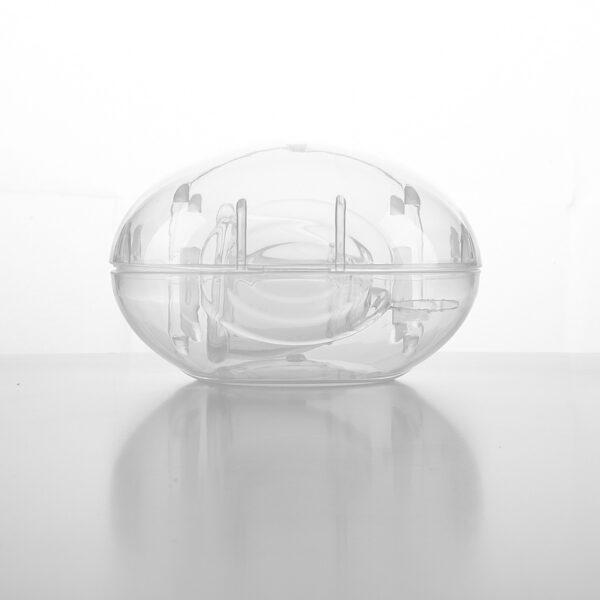 Menstruační kalíšek s boxem Heonyirry Velikost S (průhledný)