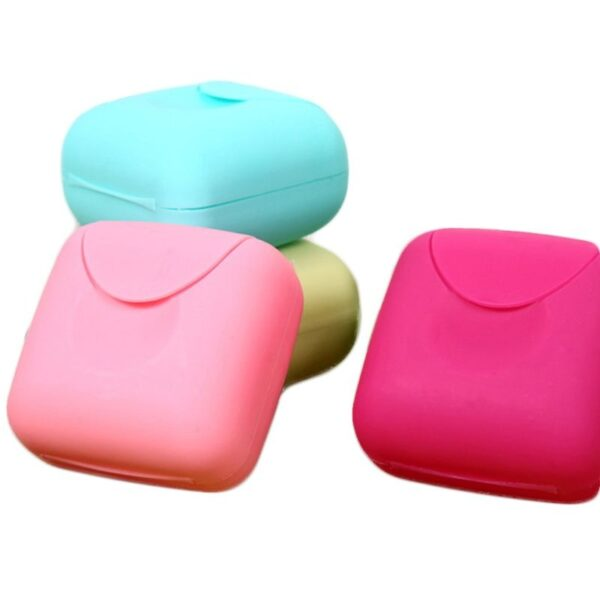 plastic woman tampon storage box portabl main